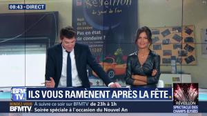 Aurélie Casse dans Première Edition - 31/12/18 - 29