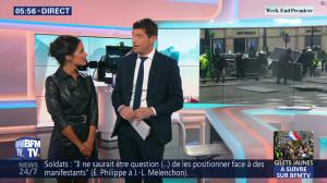 Aurélie Casse dans Week-End Première - 23/03/19 - 02
