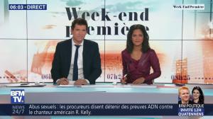 Aurélie Casse dans Week-End Première - 24/02/19 - 02