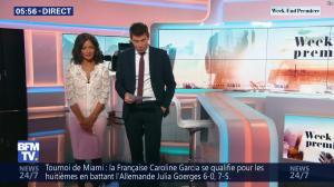 Aurélie Casse dans Week-End Première - 24/03/19 - 01