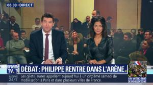 Aurélie Casse dans Week-End Première - 26/01/19 - 02