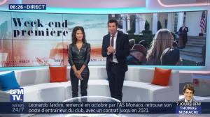 Aurélie Casse dans Week-End Première - 26/01/19 - 05