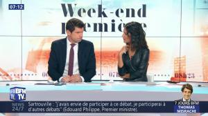 Aurélie Casse dans Week-End Première - 26/01/19 - 12