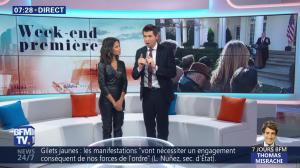 Aurélie Casse dans Week-End Première - 26/01/19 - 13