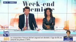 Aurélie Casse dans Week-End Première - 26/01/19 - 18