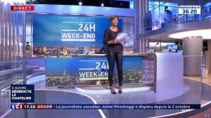 Benedicte Le Chatelier dans 24h le Week-End - 13/10/18 - 01