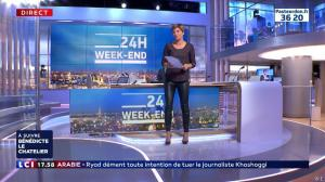 Benedicte Le Chatelier dans 24h le Week-End - 13/10/18 - 02