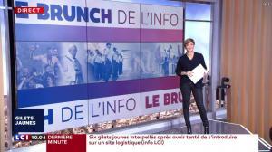 Bénédicte Le Chatelier dans le Brunch - 22/12/18 - 01