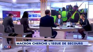 Bénédicte Le Chatelier dans le Brunch - 25/12/18 - 08