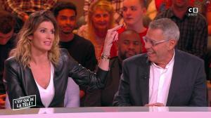 Caroline Ithurbide dans c'est Que de la Télé - 04/02/19 - 02
