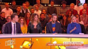 Caroline Ithurbide dans c'est Que de la Télé - 10/01/19 - 03