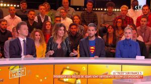 Caroline Ithurbide dans c'est Que de la Télé - 10/01/19 - 04