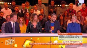 Caroline Ithurbide dans c'est Que de la Télé - 10/01/19 - 09