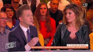 Caroline Ithurbide dans c'est Que de la Télé - 10/01/19 - 10