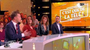 Caroline Ithurbide dans c'est Que de la Télé - 14/01/19 - 02
