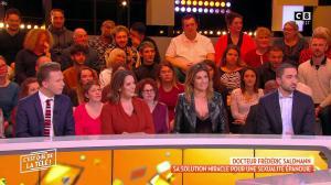 Caroline Ithurbide dans c'est Que de la Télé - 14/01/19 - 06
