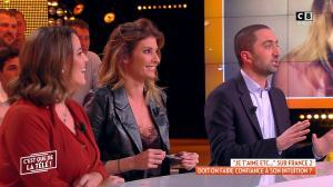 Caroline Ithurbide dans c'est Que de la Télé - 14/01/19 - 10