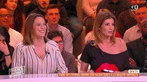 Caroline Ithurbide dans c'est Que de la Télé - 15/01/19 - 02