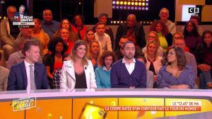 Caroline Ithurbide dans c'est Que de la Télé - 16/01/19 - 04