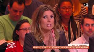 Caroline Ithurbide dans c'est Que de la Télé - 23/01/19 - 06