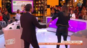 Caroline Ithurbide dans c'est Que de la Télé - 23/01/19 - 09