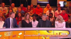 Caroline Ithurbide dans c'est Que de la Télé - 31/01/19 - 01