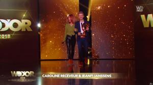 Caroline Receveur lors des W9 d'Or - 20/12/18 - 02