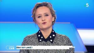 Caroline Roux dans C dans l'Air - 04/02/19 - 02