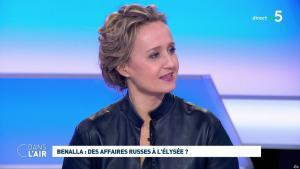 Caroline Roux dans C dans l'Air - 12/02/19 - 12