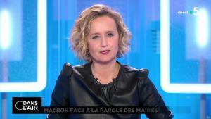 Caroline Roux dans C dans l'Air - 15/01/19 - 01