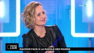 Caroline Roux dans C dans l'Air - 15/01/19 - 03