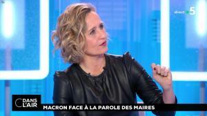 Caroline Roux dans C dans l'Air - 15/01/19 - 09