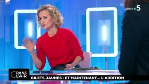 Caroline Roux dans C dans l'Air - 18/12/18 - 04