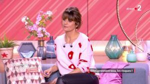 Faustine Bollaert dans Ça Commence Aujourd'hui - 08/03/19 - 07