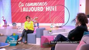 Faustine Bollaert dans Ça Commence Aujourd'hui - 12/03/19 - 18