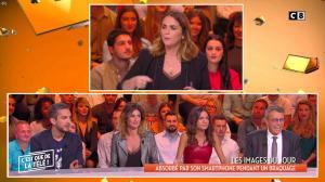 FrancesÇa Antoniotti et Caroline Ithurbide dans c'est Que de la Télé - 06/03/19 - 02