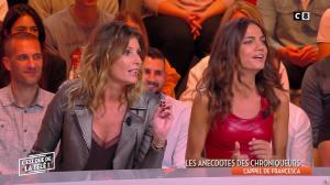 FrancesÇa Antoniotti et Caroline Ithurbide dans c'est Que de la Télé - 06/03/19 - 08