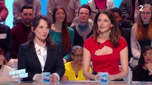 Frédérique Bel dans les Enfants de la Télé - 27/01/19 - 09