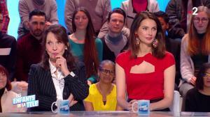 Frédérique Bel dans les Enfants de la Télé - 27/01/19 - 11