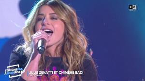 Julie Zenatti dans Touche pas à mon Poste - 08/03/18 - 06