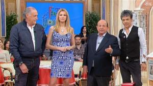 Adriana Volpe dans I Fatti Vostri - 12/04/11 - 2