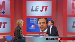 Anne-Sophie Lapix dans Dimanche Plus - 23/01/11 - 2