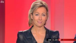 Anne-Sophie Lapix dans Dimanche Plus - 23/01/11 - 3