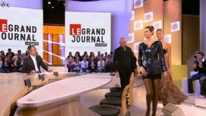 Héléna Noguerra dans le Grand Journal De Canal Plus - 06/01/10 - 1