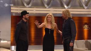 Michelle Hunziker, Thomas Gottschalk et Michael Raivard dans Wetten Dass - 19/03/11 - 2
