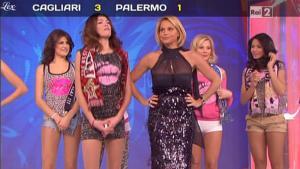 Simona Ventura dans Quelli Che Il Calcio - 16/01/11 - 1