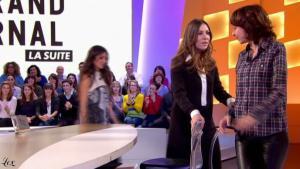 Valérie Bonneton dans le Grand Journal De Canal Plus - 28/01/11 - 2