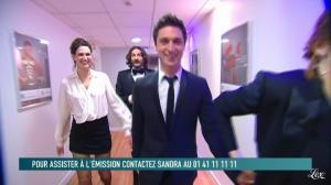 Héléna Noguerra dans le Grand Journal de Canal Plus - 24/02/12 - 01