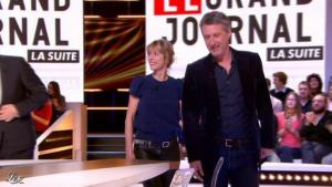 Karin Viard dans le Grand Journal de Canal Plus - 16/04/12 - 02