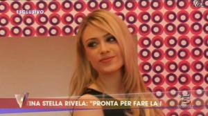 Martina Stella dans Verissimo - 24/03/12 - 01